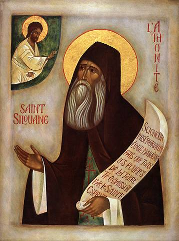 Sfântul Siluan - simţind puternic prezenţa lui Dumnezeu în suflet